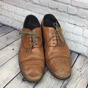 Cole Haan Brown Leather Oxford Size 12
